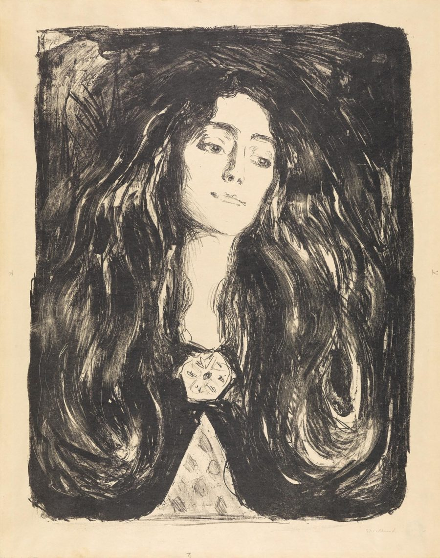 Obra the Brooch de Edvard Munch