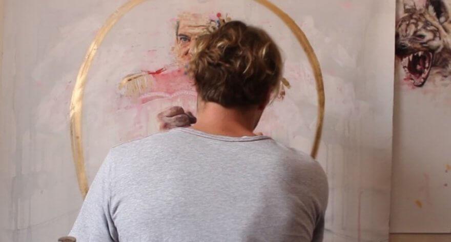 Christiaan Conradie con «The Saint Maker»