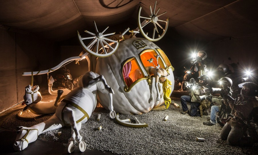 Dismaland and my family vacation to dystopian amusement park
