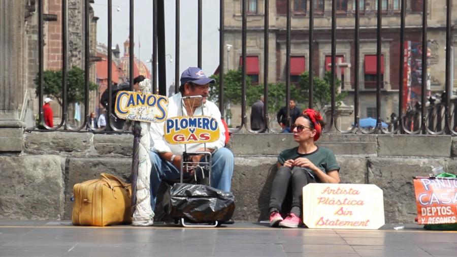 Nuria Mora: Artista plástica sin statement