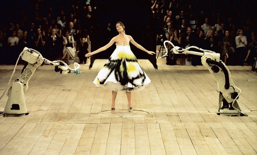 Alexander McQueen Spring Summer 2014 London Fashion Week Copyright Catwalking.com 'One Time Only' Publication Editorial Use Only