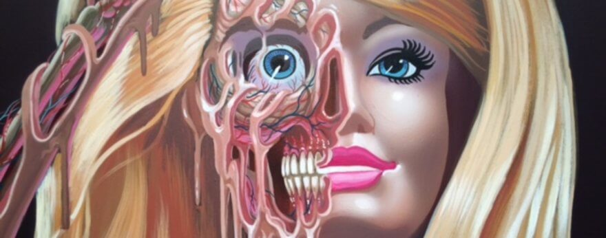 "Nychos and his solo exhibition debut ""IKON"""