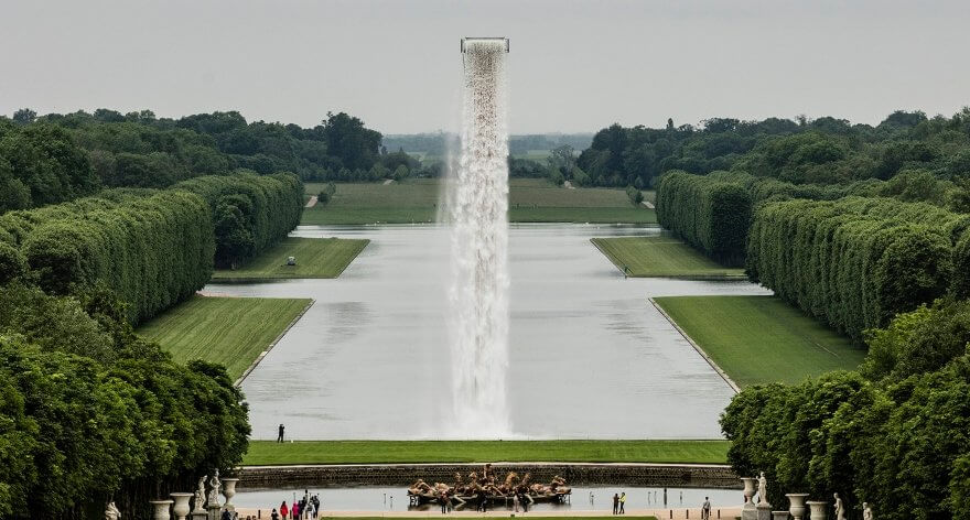 Versailles has a spectacular new installation