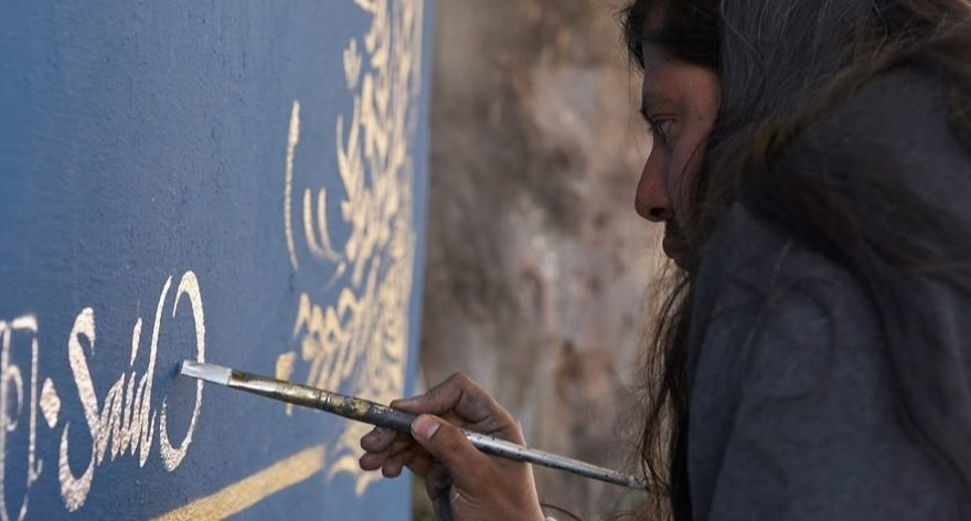 Said Dokins: when calligraphy finds graffiti