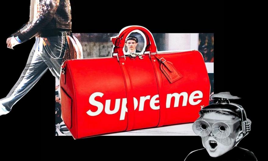 ¡Louis Vuitton y Supreme lanzan maletas, sudaderas, patinetas y mochilas!