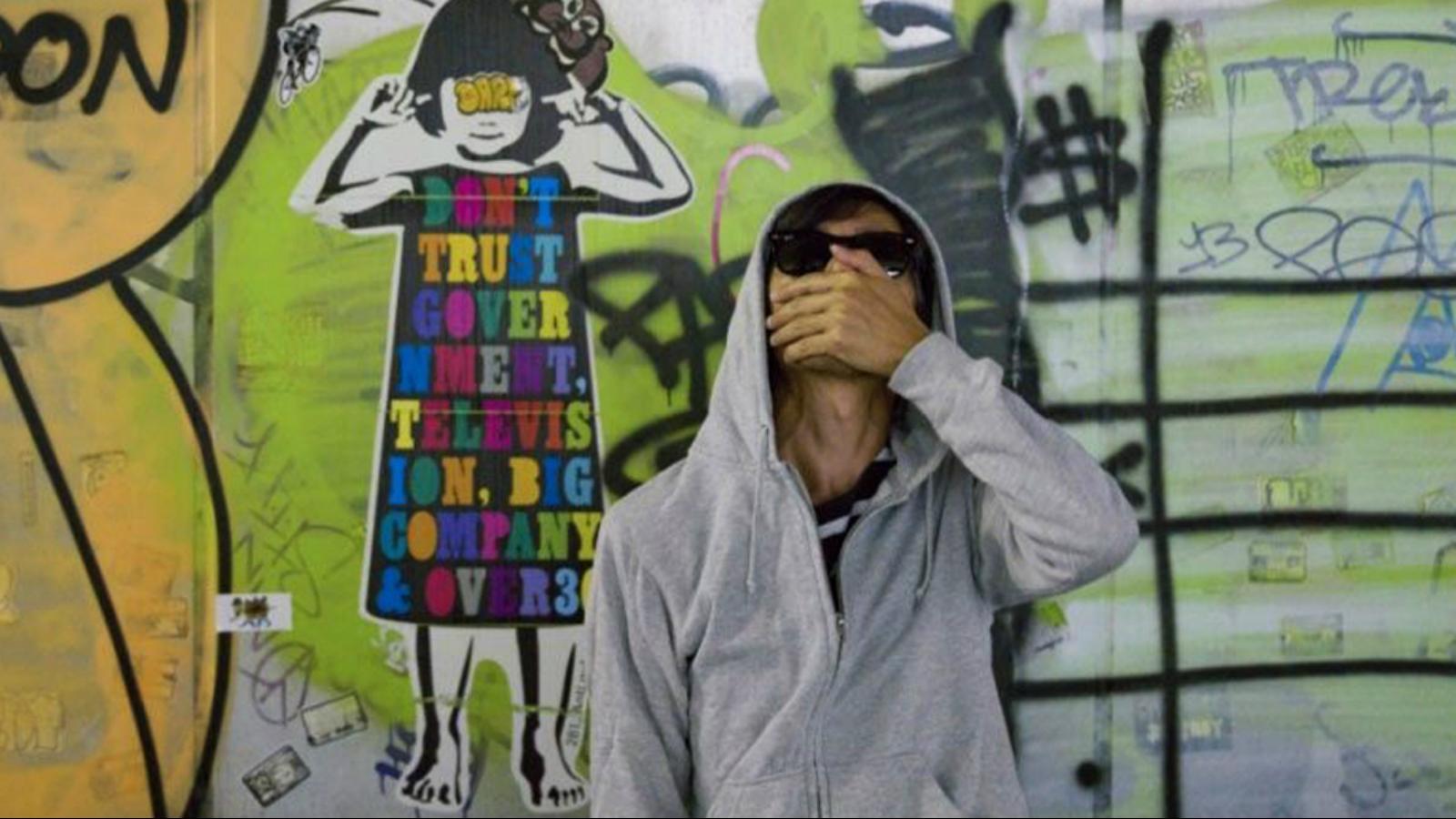 """¿Ahora qué hizo 281 Anti Nuke, """"el Banksy japonés""""??"""