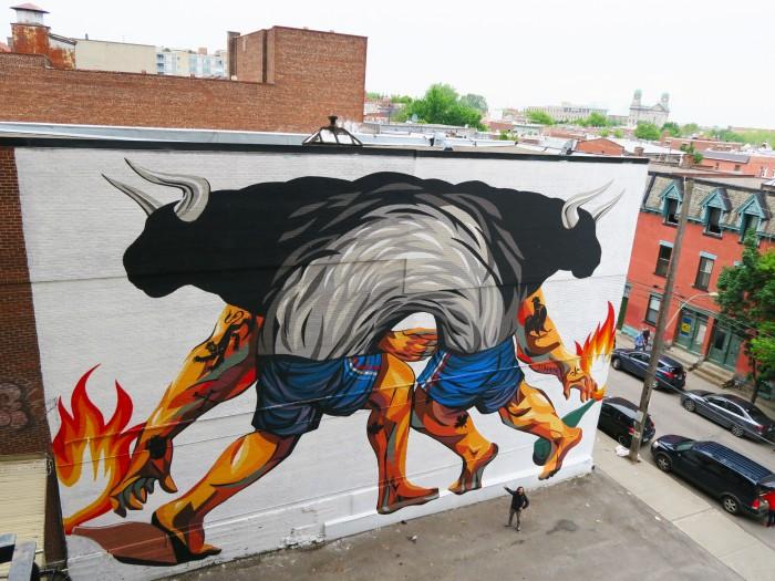 Mural por JAZ