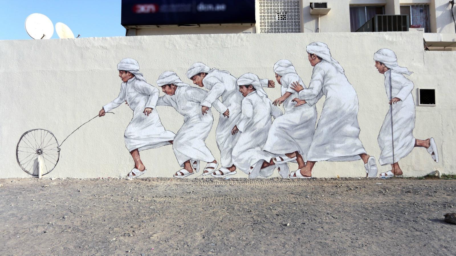 Museo Callejero, iniciativa en Dubái para pintar murales en la ciudad