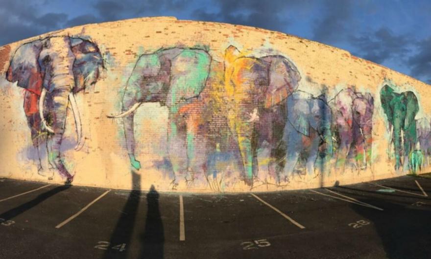 42 Murals, el concurso de street art texano que reunió a la comunidad y artistas ✌️