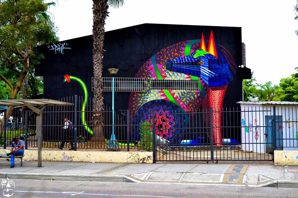 Mural por Spaik