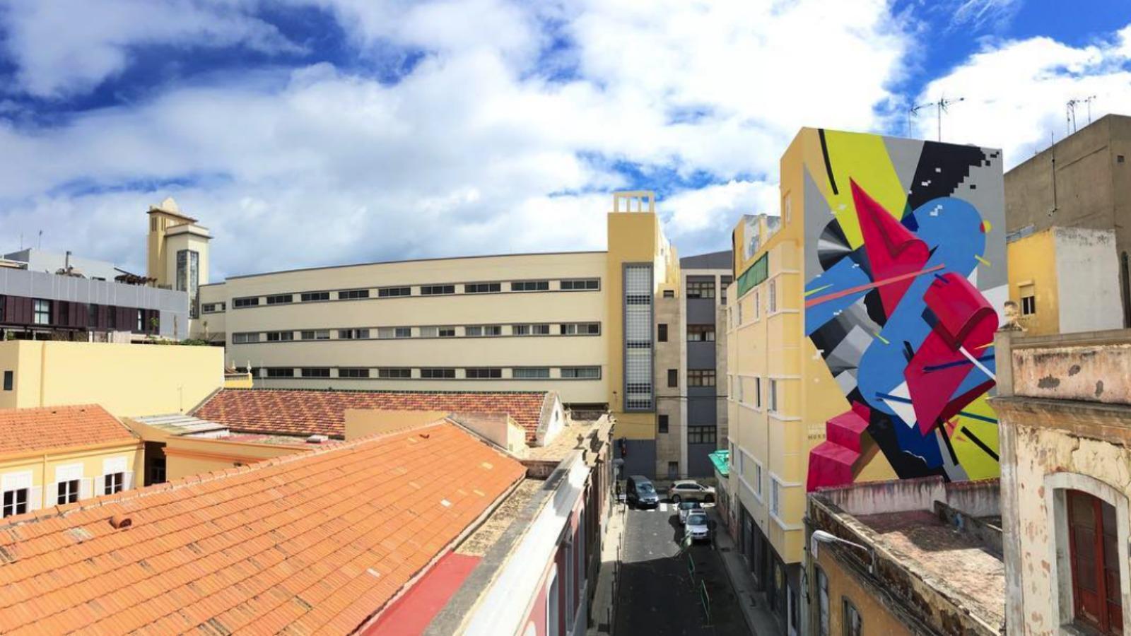 Emotions, el nuevo mural de Lauro Samblás e Iker Muro en España