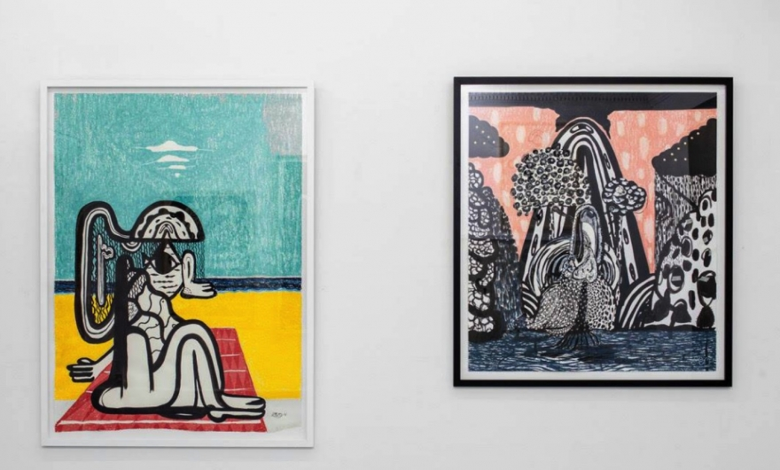 Ex integrante de la banda Mew exhibirá sus pinturas