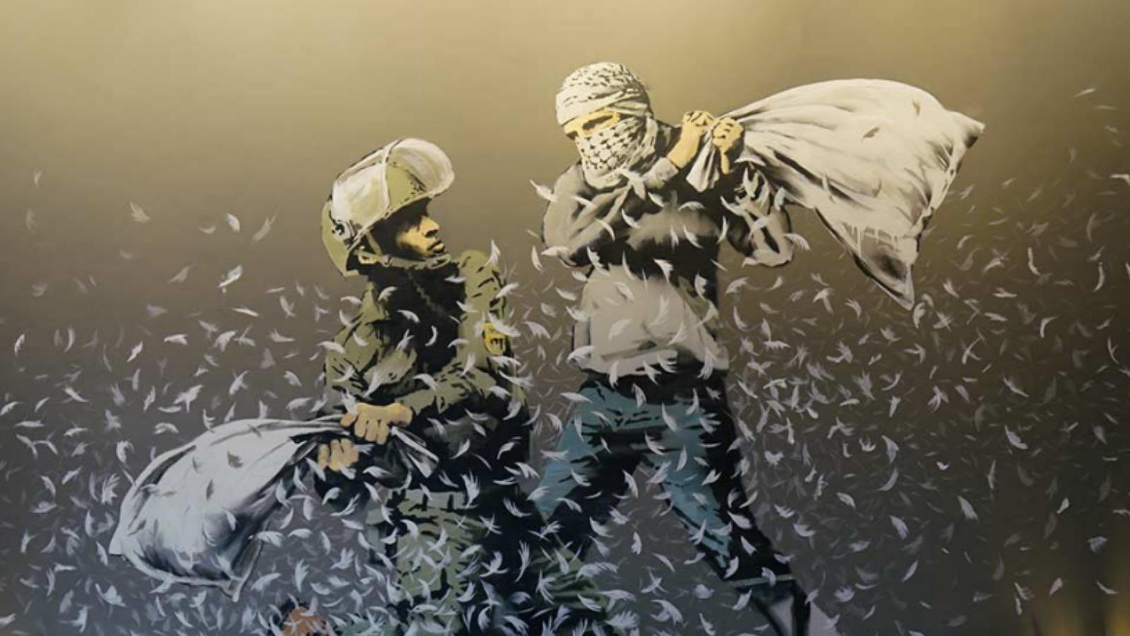 Todo lo que debes saber del nuevo proyecto de Banksy: The Walled Off Hotel