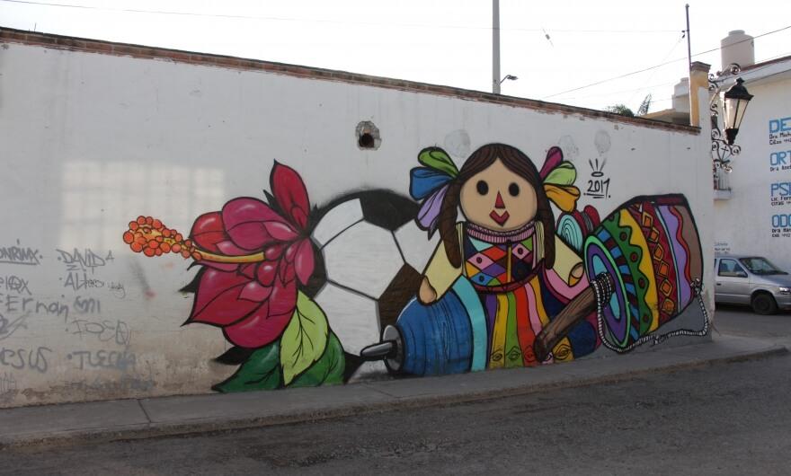 2alas Y Don Rimix Crearon Murales Para Una Primaria En Queretaro