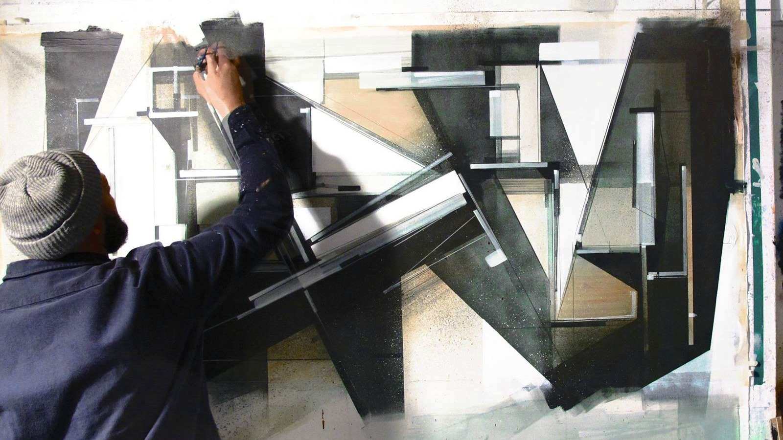 Augustine Kofie inaugura exposición en París ✌️