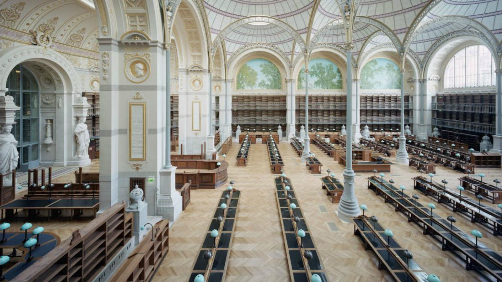 Arquitecto remodela una de las bibliotecas más impresionantes del mundo