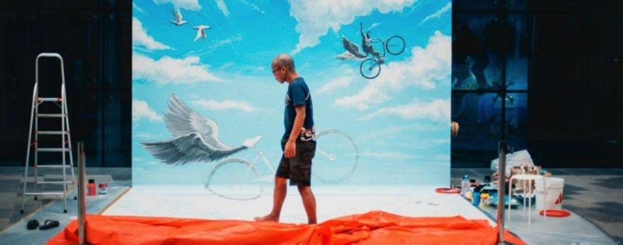 Dubai Canvas 2017; the best of urban art in 3D