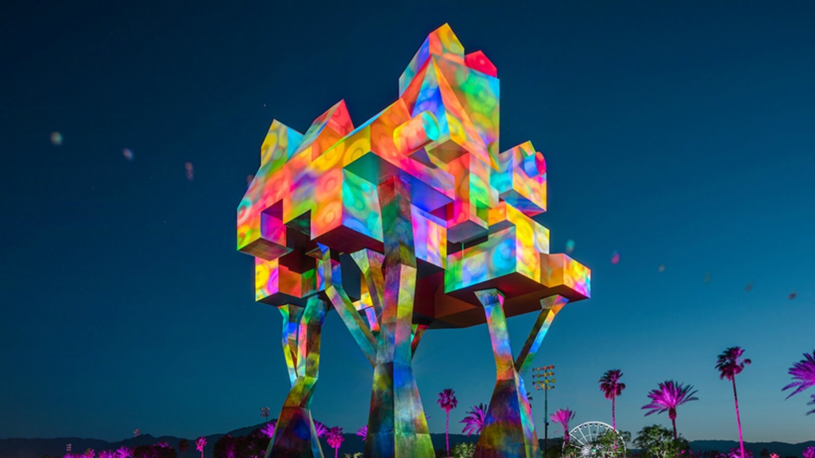 Coachella 2017 tiene las instalaciones más grandes en la historia del festival