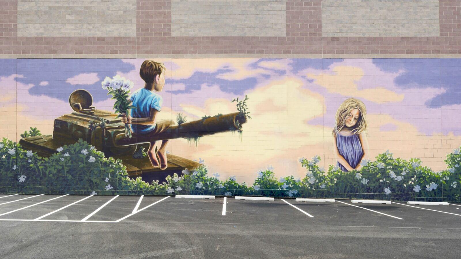 Los murales realizados en Pow! Wow! Washington ?