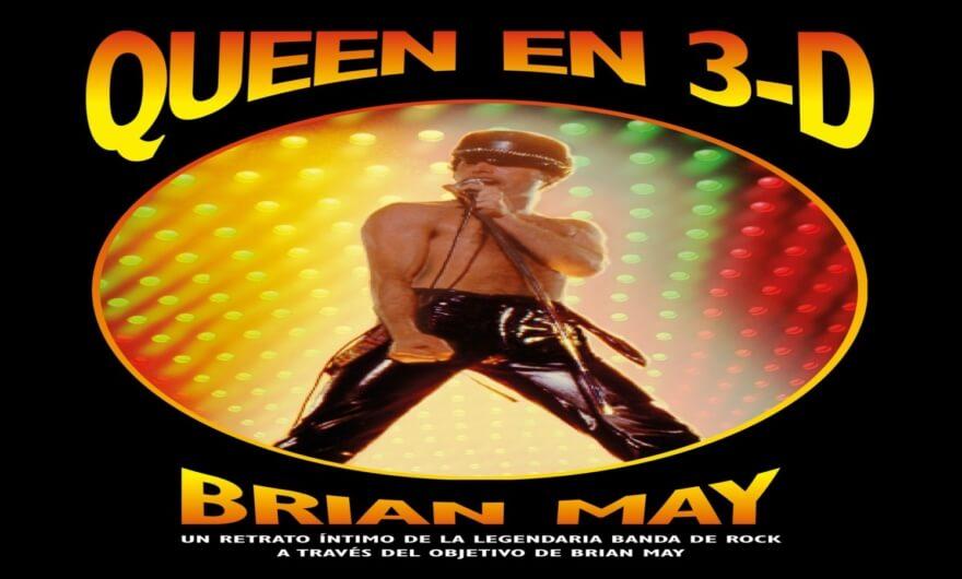 «Queen in 3D» con imágenes 3D de la legendaria banda de rock ?