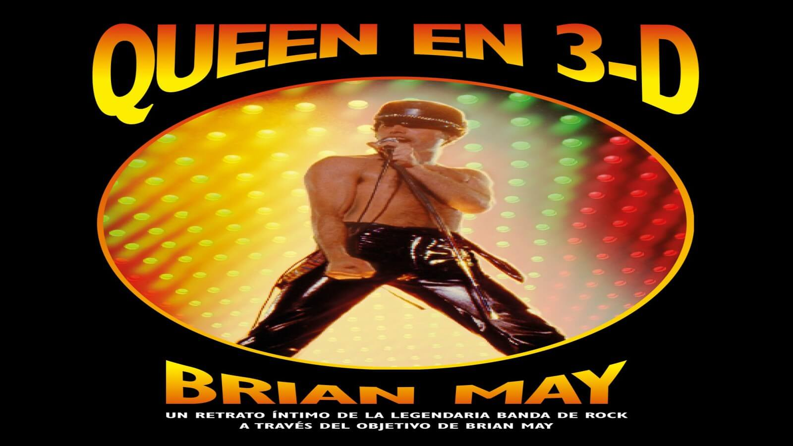 «Queen in 3D» con imágenes 3D de la legendaria banda de rock ?