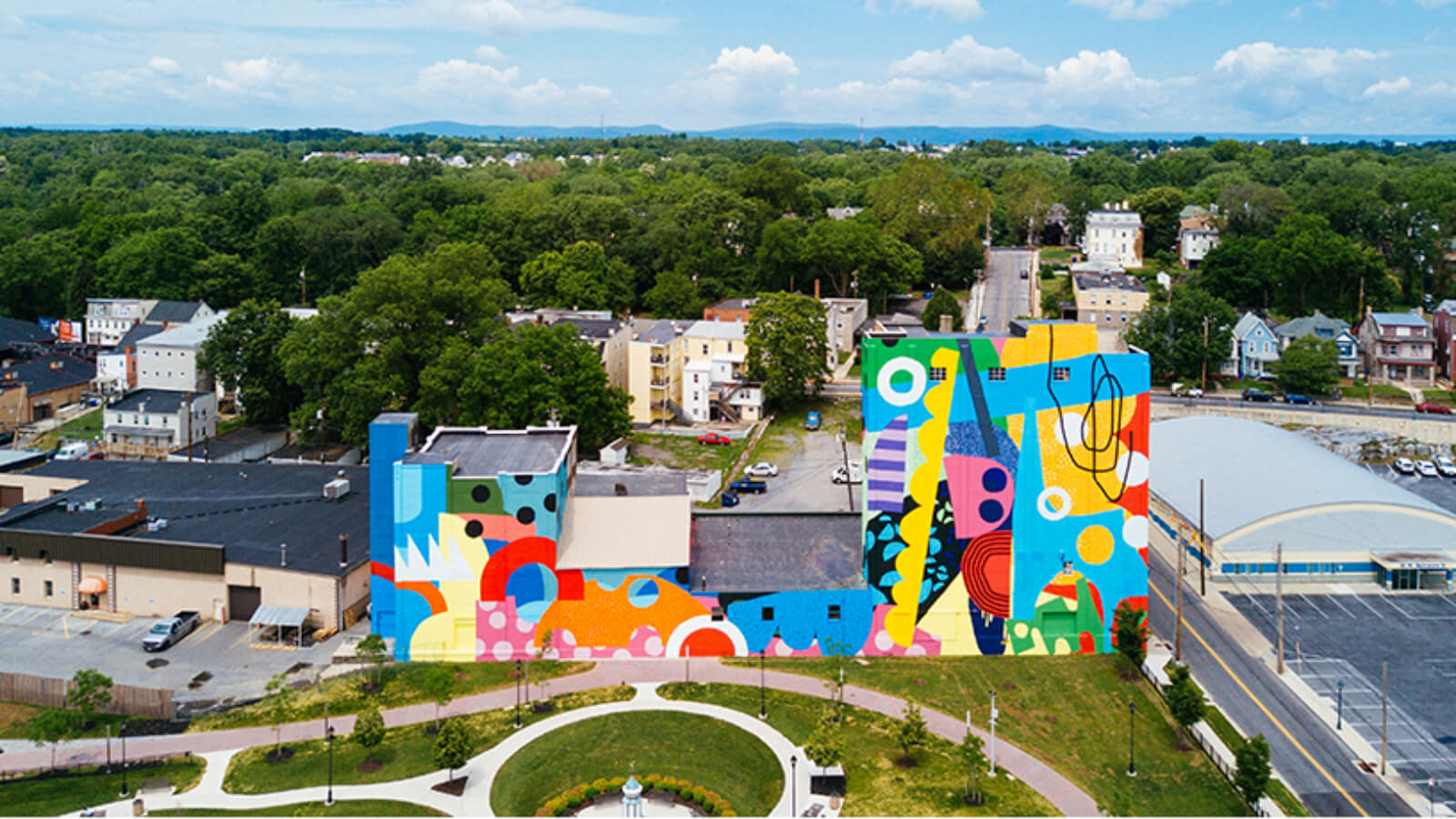 Proyecto cultural en Hagerstown: mejorar el entorno urbano a través del arte