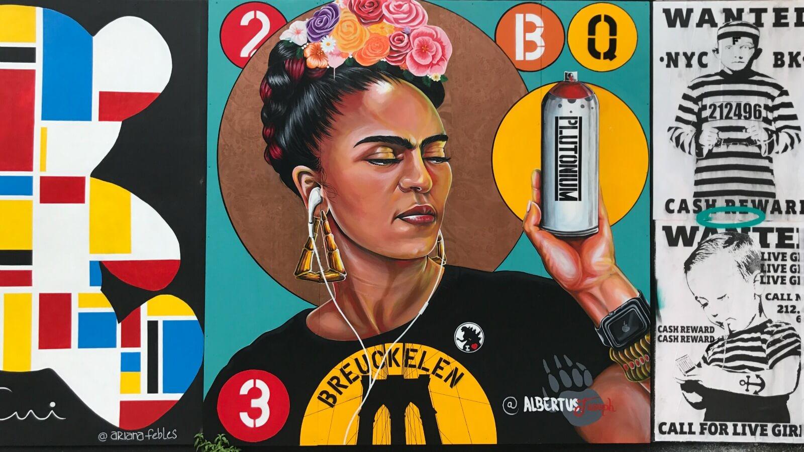 Underhill Walls: proyecto de arte urbano en Brooklyn