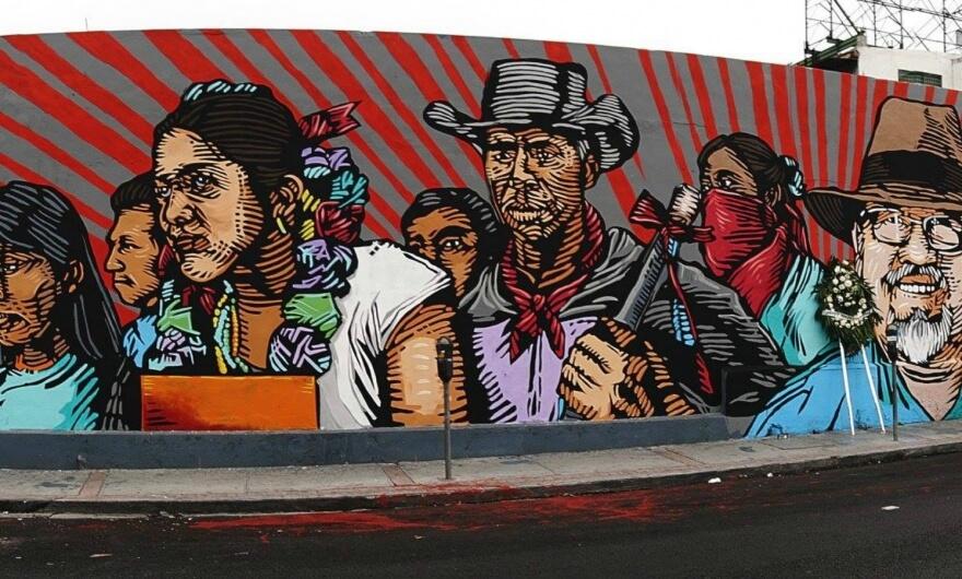 El Otro Festival: murales por la memoria en México ✌