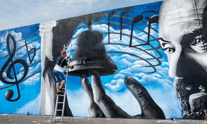 Mextonia: primer festival de arte urbano en Estonia