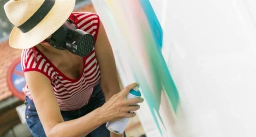 "NURIA MORA: «""I don't do street art»"