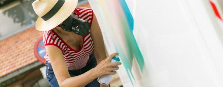 Nuria Mora: «Yo no hago street art»