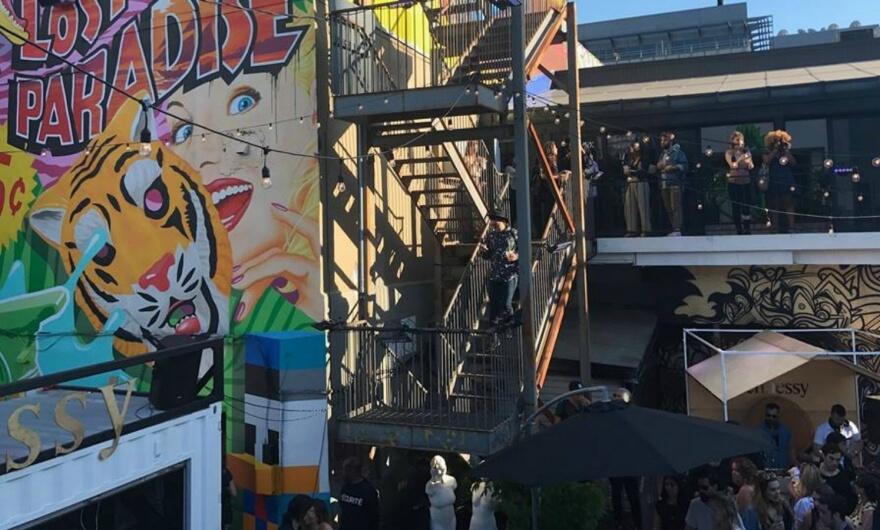 ¡Ya comenzó Mural Festival y estuvimos en la fiesta de inauguración! ?