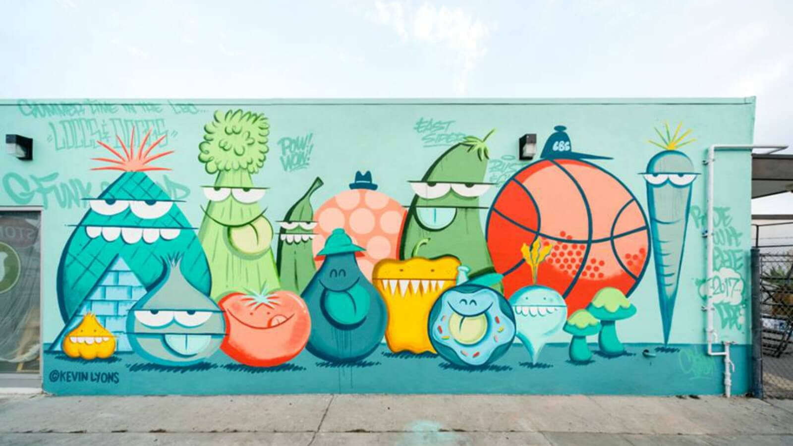 Los murales creados POW! WOW! Long Beach 2017