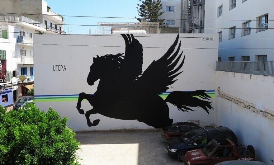 Artwork in Bloop Ibiza 2013