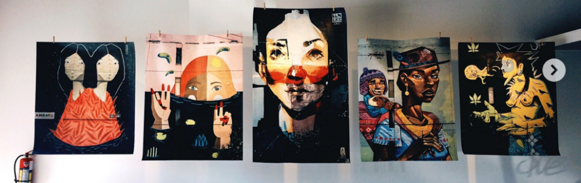 Primera exposición fotográfica sobre el arte urbano de Ecuador?