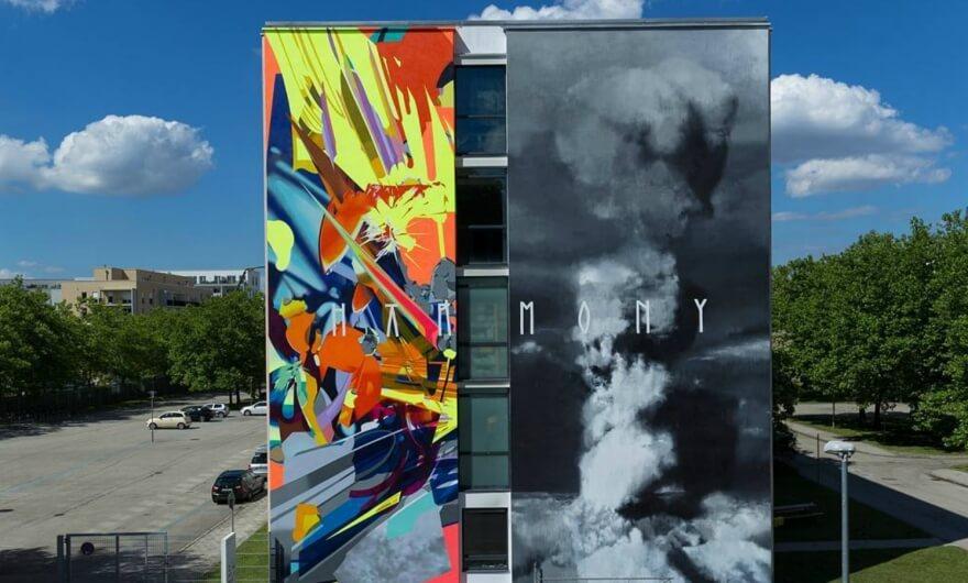 15 artistas rompen récord por pintar las paredes más grandes en Múnich