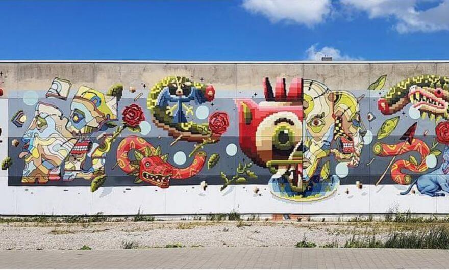 Conoce el nuevo mural de Smithe y DXTR ?