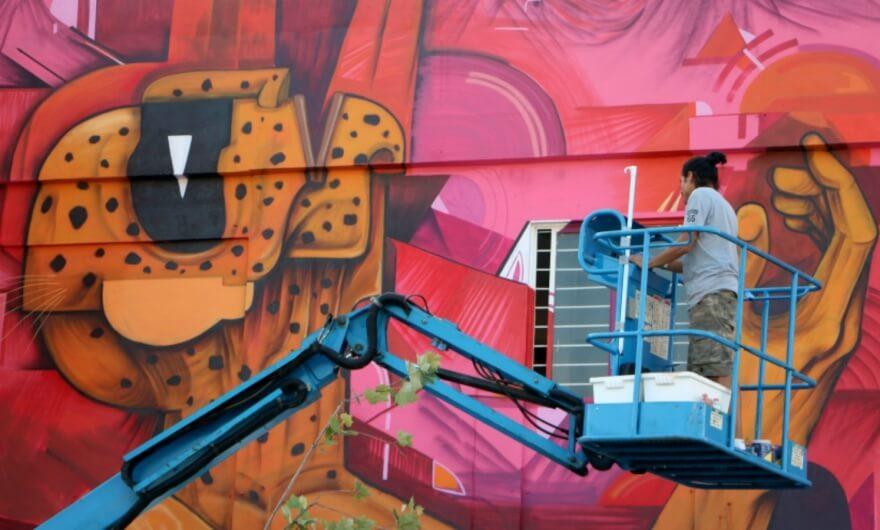 Entrevista con Saner: el nuevo muralismo mexicano