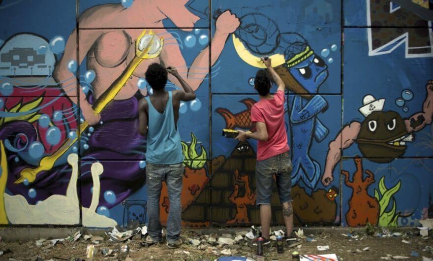 Primer festival de cine sobre arte urbano en Grenoble, Francia ?