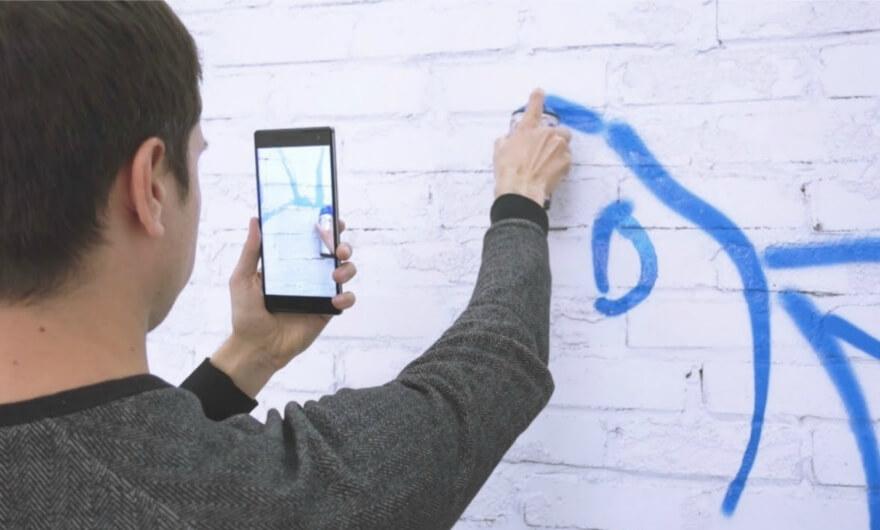 Google lanza primera aplicación de graffiti en realidad aumentada?