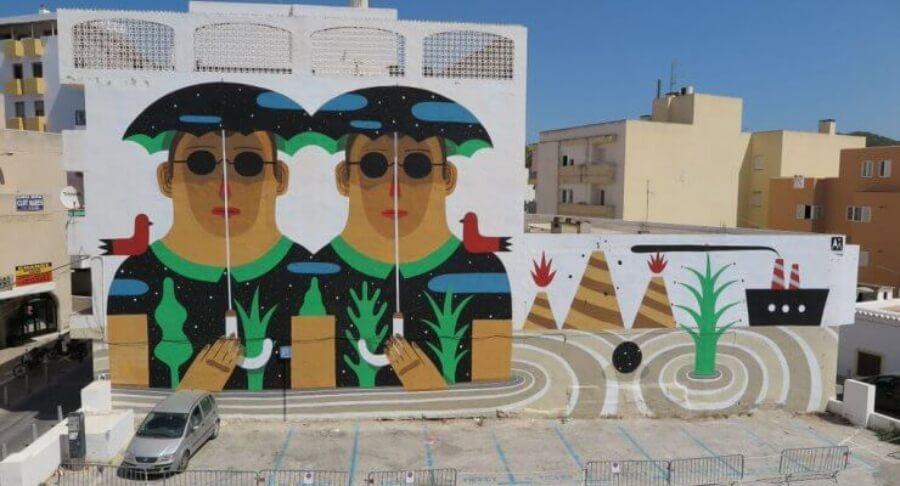 Mural in Bloop