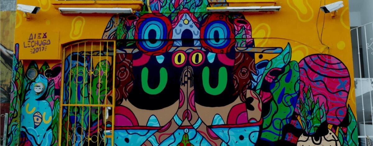 Alex Lechugx: «El arte urbano sigue creciendo»