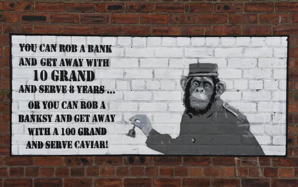 Resultado de imagen para nuevo mural banksy
