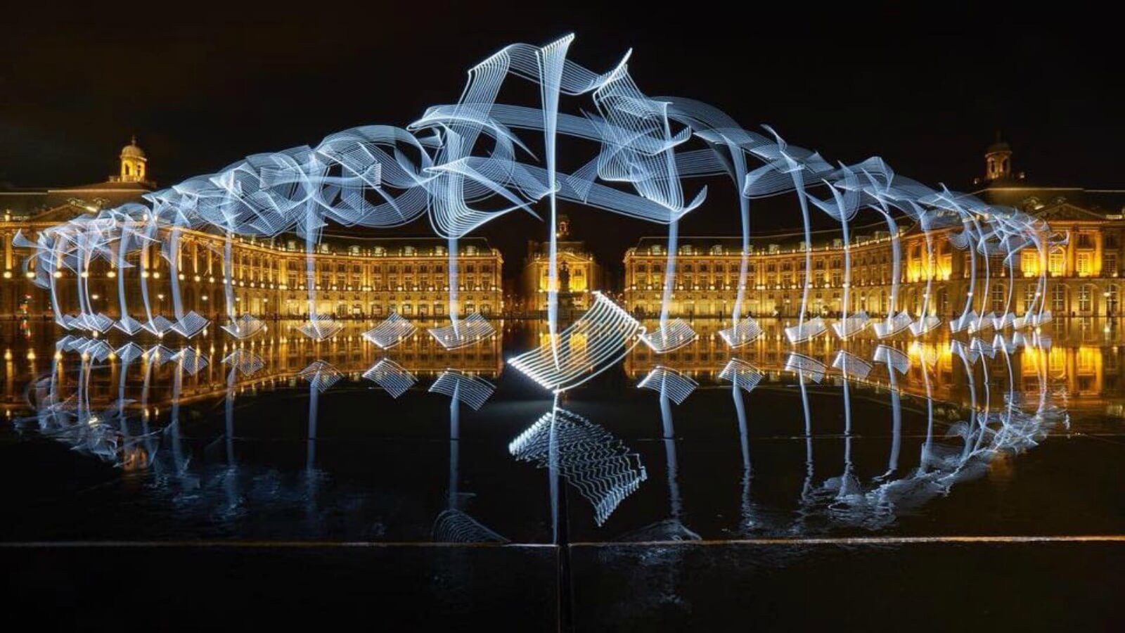 Said Dokins expone en Alemania fotografías sobre la luz y la caligrafía