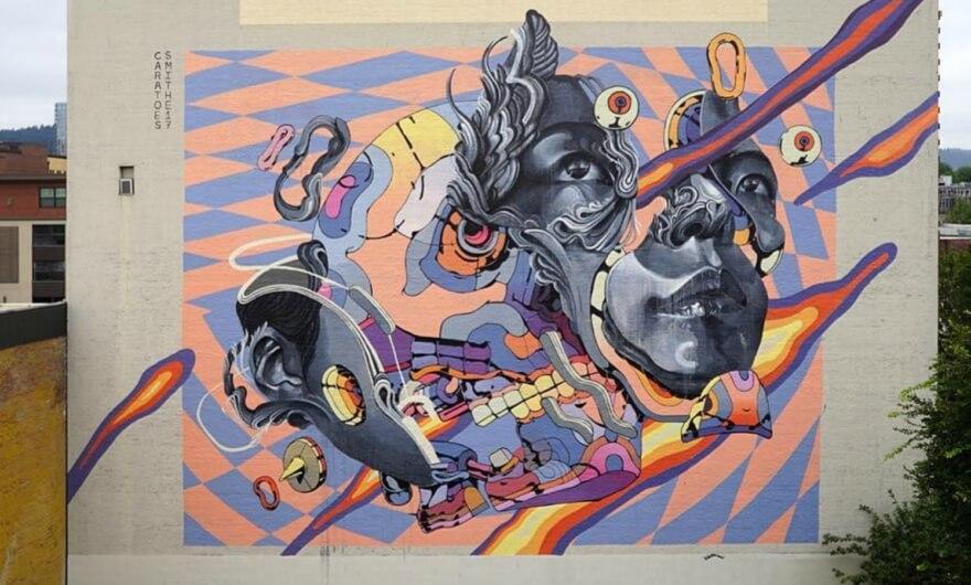 ¡Nuevo mural de Smithe en Portland ?!