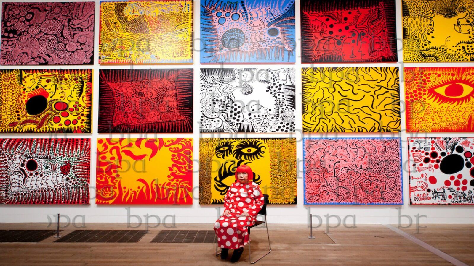 Yayaoi Kusama inaugura su propio museo en Tokio