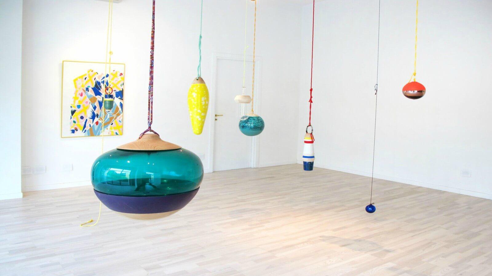 Nuria Mora inaugura su primera exposición individual en Italia