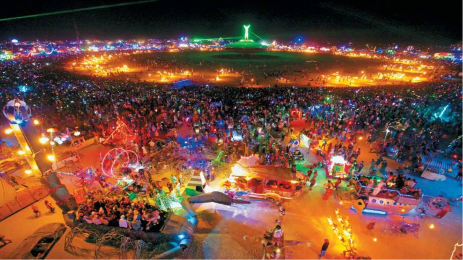 Las cinco mejores instalaciones del Burning Man 2017