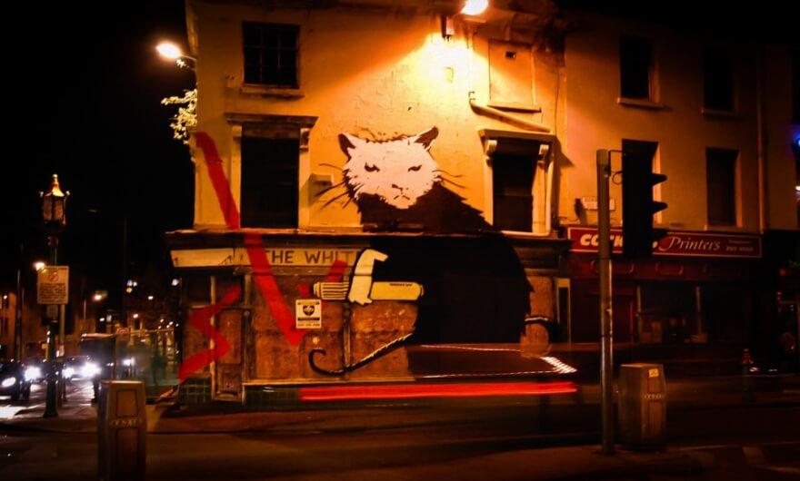 Venden obras Banksy en 4 millones de libras tras ser retiradas de las calles de Liverpool