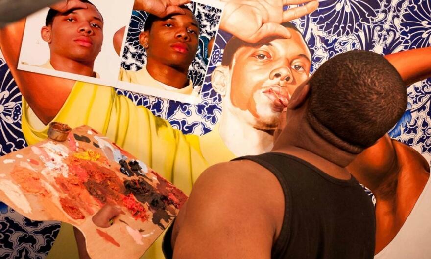 Obama escoge a Kehinde Wiley para pintar su retrato presidencial
